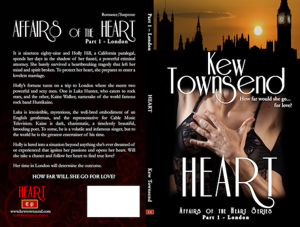 HEART Print Cover by Kew Townsend