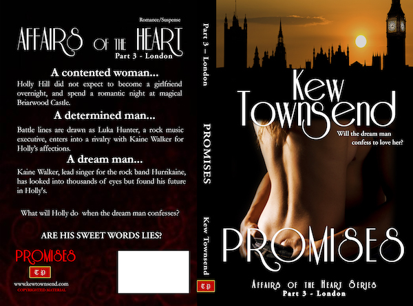 PROMISES Print Cover by Kew Townsend