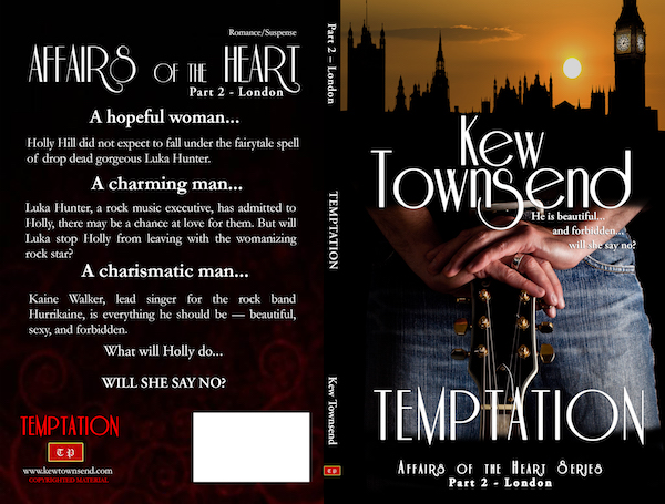TEMPTATION Print Cover by Kew Townsend