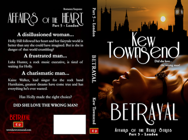 BETRAYAL Print Cover by Kew Townsend