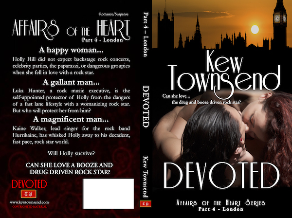 DEVOTED Print Cover by Kew Townsend