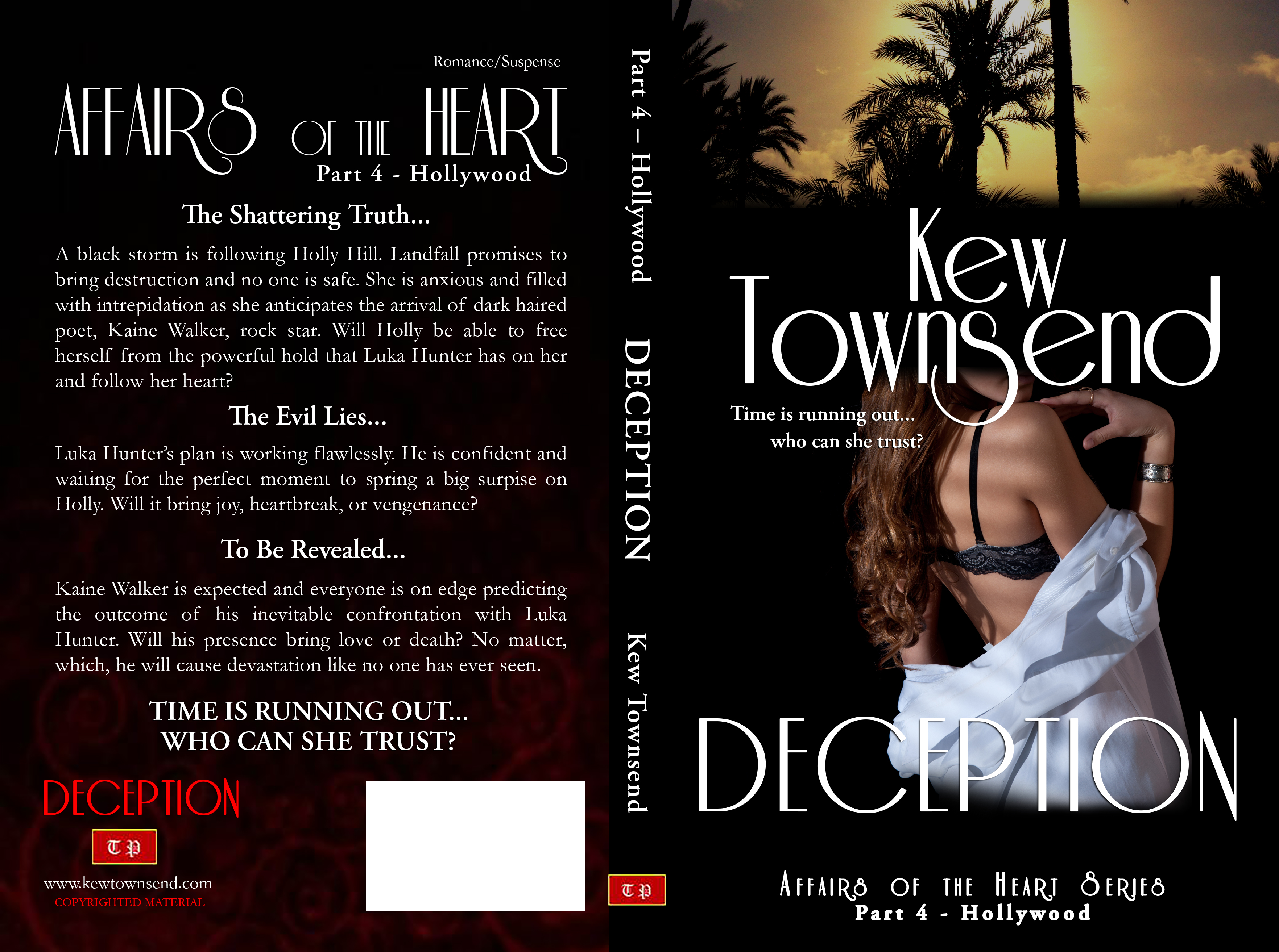 DECEPTION Print Cover by Kew Townsend