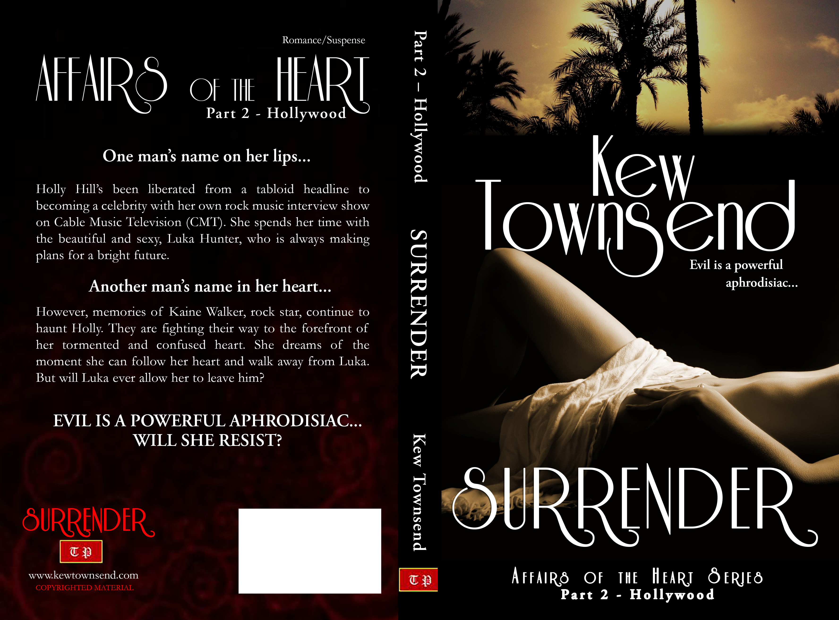 SURRENDER Print Cover by Kew Townsend
