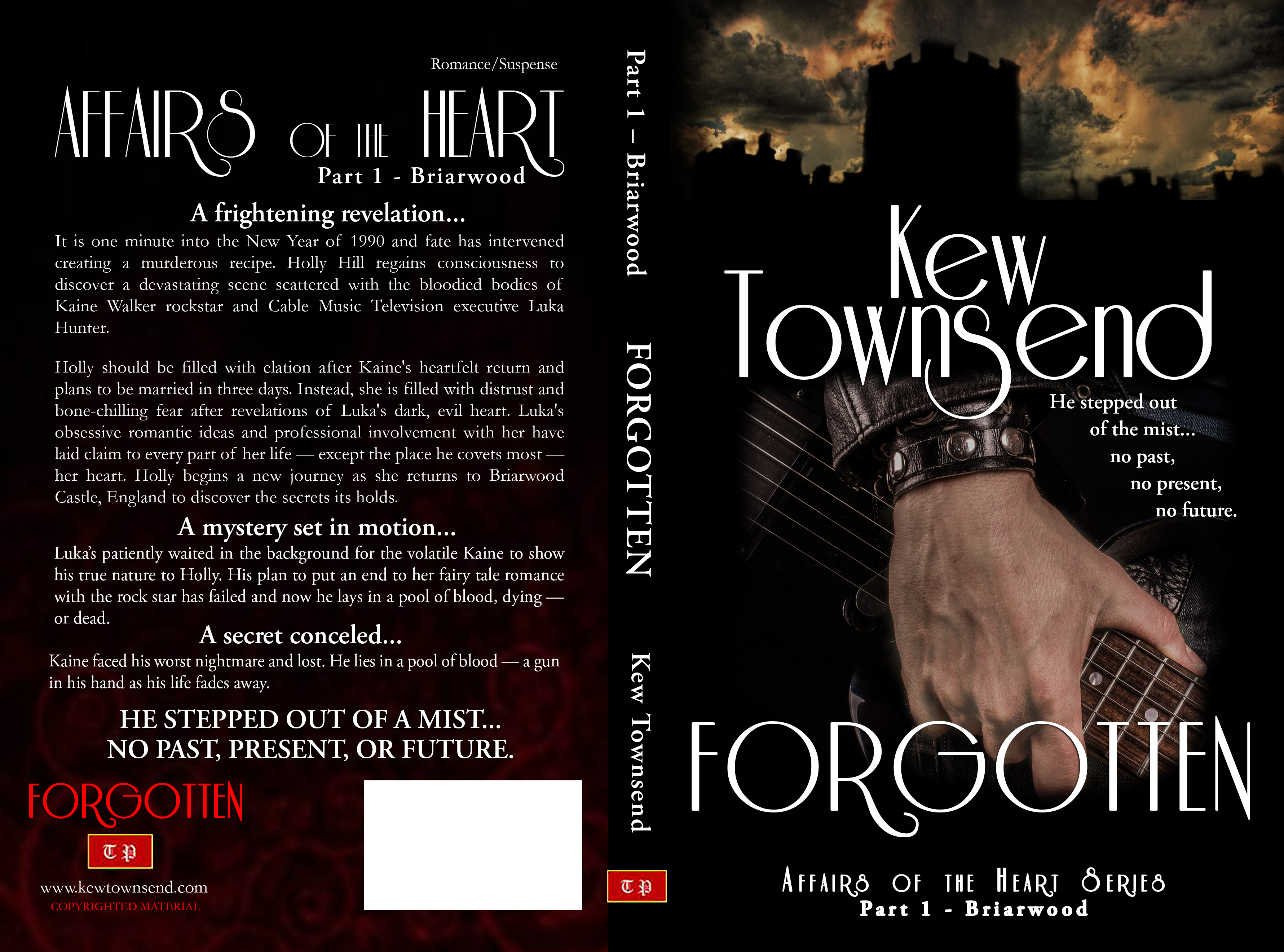 FORGOTTEN Print Cover by Kew Townsend